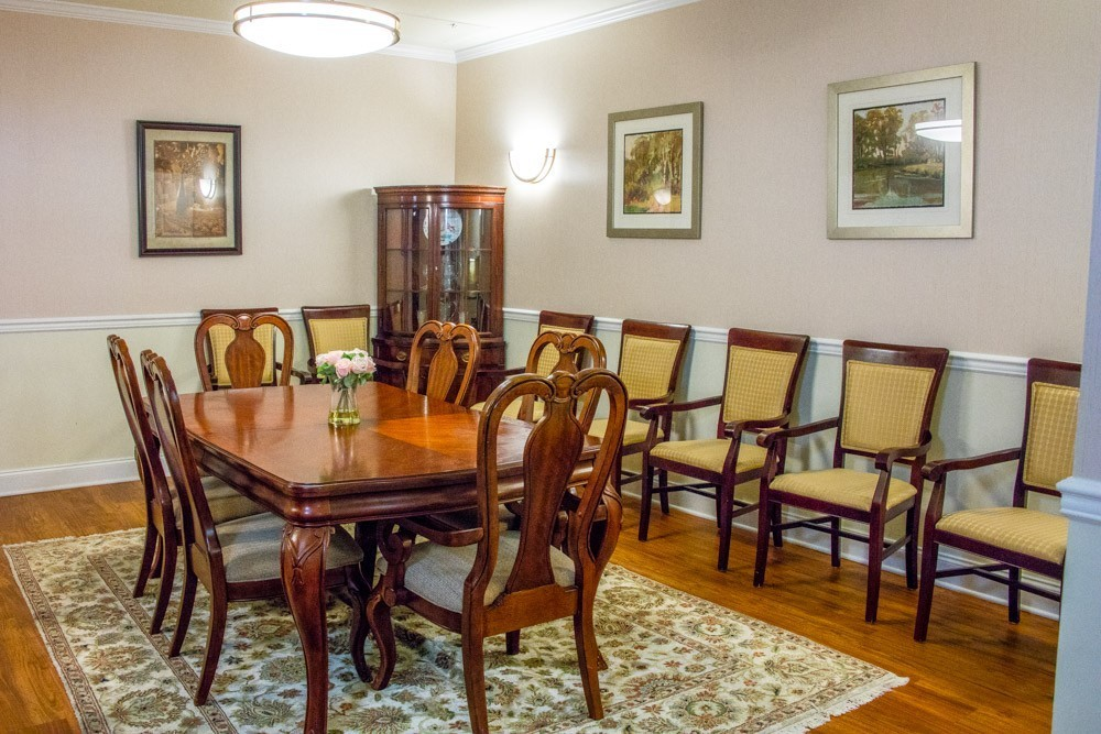 Private dining room, perfect for family meals.