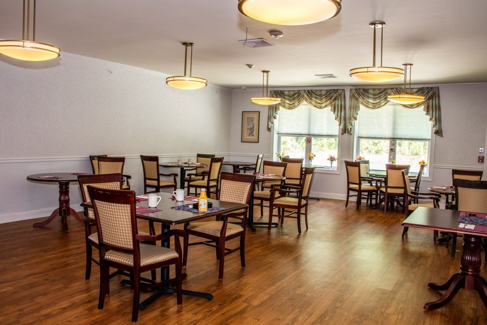 We have a special needs dining room, separate from the main dining room.