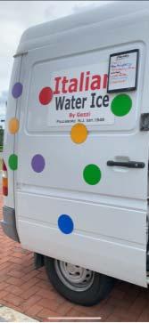Italian water ice truck
